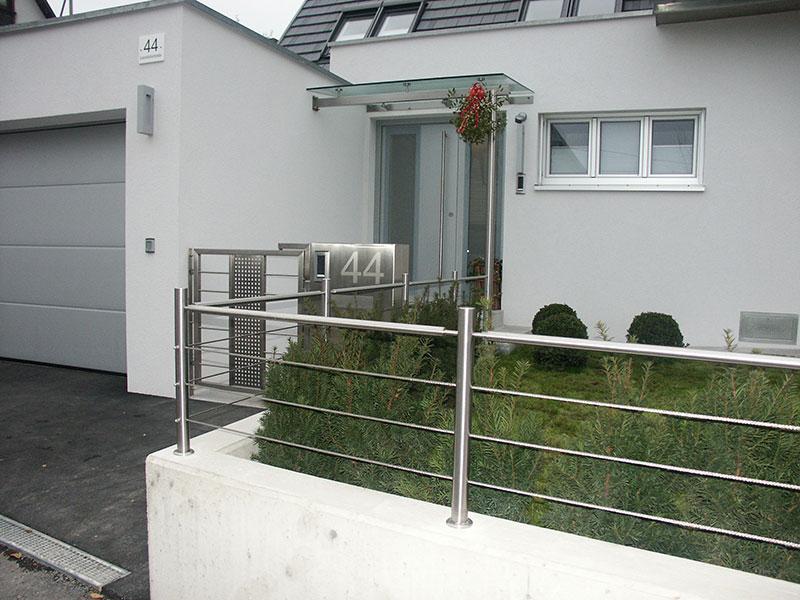 Edelstahl Gartenzaun gartenzäune   ihr gartenzaun-profi in oberösterreich